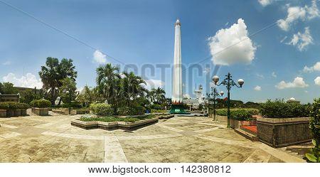 Tugu Pahlawan - National Monument in Surabaya Heroes Day East Java Indonesia