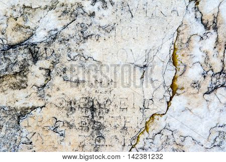 Close up old stone texture, background, pattern