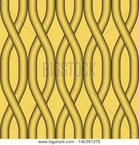 Abstract geometric seamless pattern. Seamless vector wave pattern background