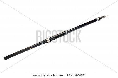 fishing pole instrument isolated on white background