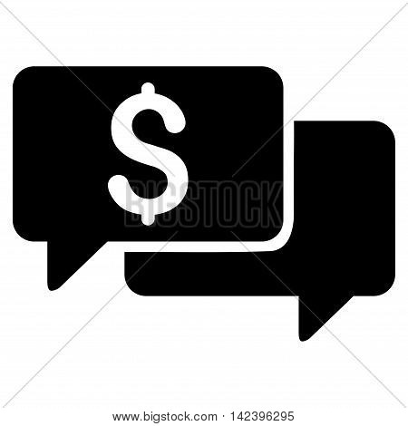 Price Bids icon. Vector style is flat iconic symbol with rounded angles, black color, white background.
