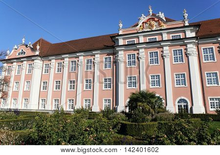 historic castle of Meersburg at Lake Constance, Germany