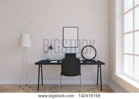 Convenient Working Space At Home