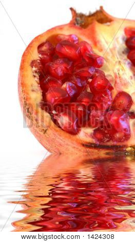 Pomegranate On Water