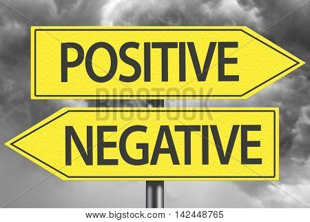 Positive x Negative yellow