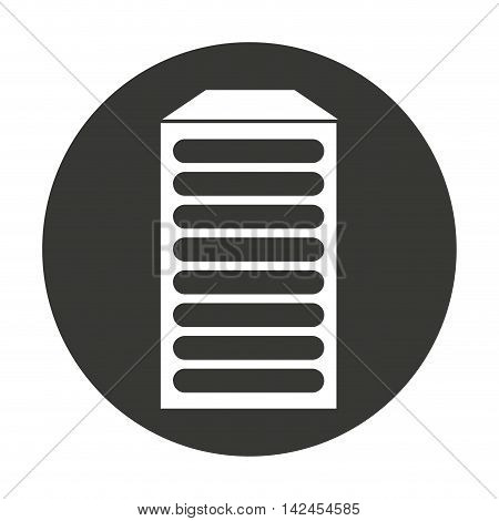 data storage isolated icon vector isolated graphic