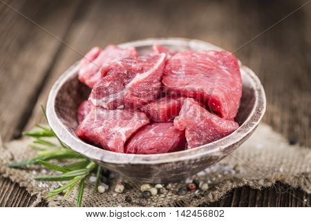 Chopped Beef Steak