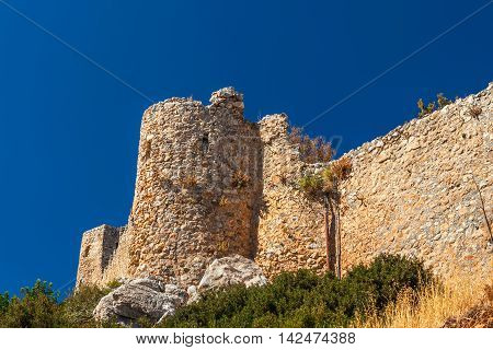 The Saint Hilarion Castle in North Cyprus.