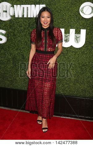 LOS ANGELES - AUG 10:  Michelle Ko at the CBS, CW, Showtime Summer 2016 TCA Party at the Pacific Design Center on August 10, 2016 in West Hollywood, CA