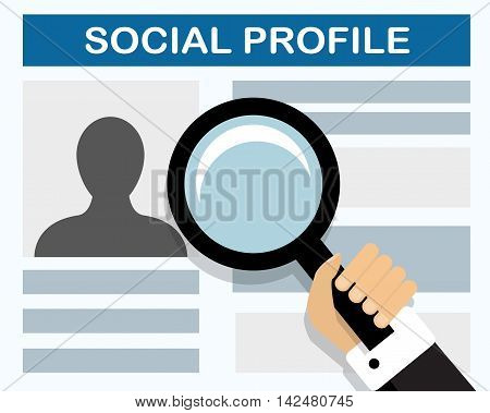 Inspection social profile of the future employee