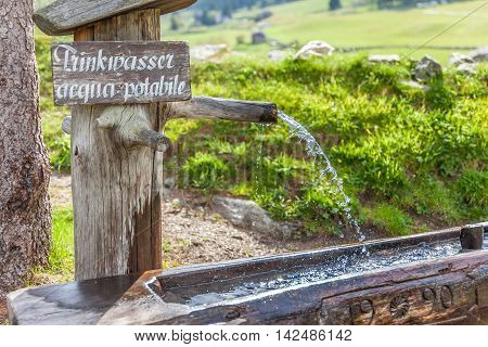 Drinking Fountain At The Holy Ghost Church