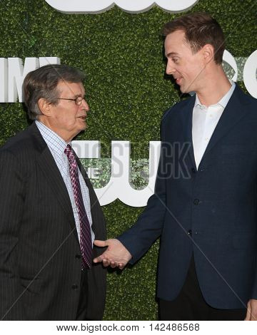 LOS ANGELES - AUG 10:  David McCallum, Sean Murray at the CBS, CW, Showtime Summer 2016 TCA Party at the Pacific Design Center on August 10, 2016 in West Hollywood, CA