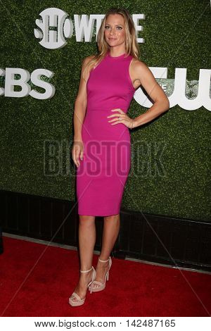 LOS ANGELES - AUG 10:  AJ Cook at the CBS, CW, Showtime Summer 2016 TCA Party at the Pacific Design Center on August 10, 2016 in West Hollywood, CA