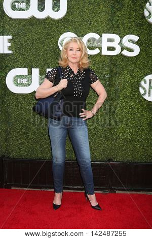 LOS ANGELES - AUG 10:  Melody Thomas Scott at the CBS, CW, Showtime Summer 2016 TCA Party at the Pacific Design Center on August 10, 2016 in West Hollywood, CA