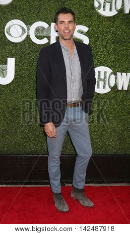 LOS ANGELES - AUG 10:  Jason Thompson at the CBS, CW, Showtime Summer 2016 TCA Party at the Pacific Design Center on August 10, 2016 in West Hollywood, CA
