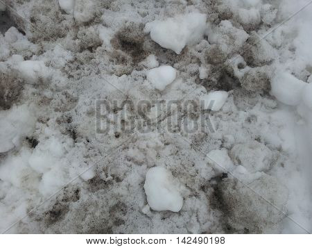 dirty snow bank grunge texture bump map