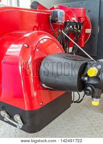 Gas Burner Boiler