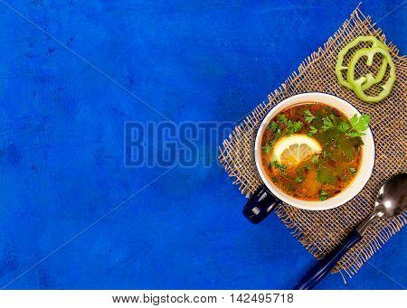 Fish Soup Flat Lay