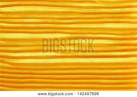 Golden silk pleated bring up multiple for background.