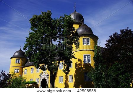 Montabaur is a town and the district seat of the Westerwaldkreis in Rhineland-Palatinate, Germany.