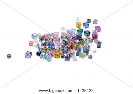 Pile Of Glass Beads