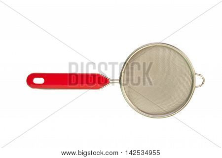 cooking sieve sift insulation, on a white background