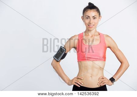 Sporty Girl With Perfect Body