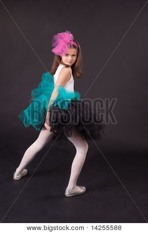 Small Girl Dancing
