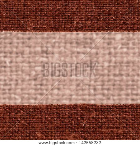 Textile tissue fabric string umber canvas clean material close-up background