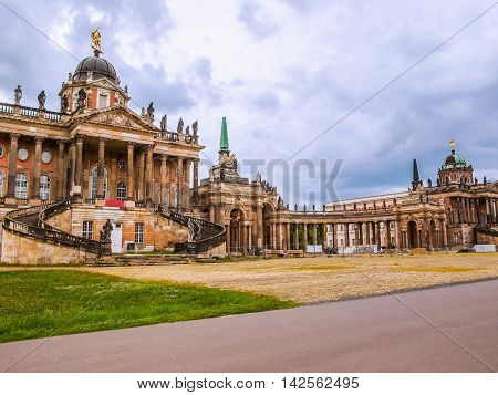 Neues Palais In Potsdam Hdr