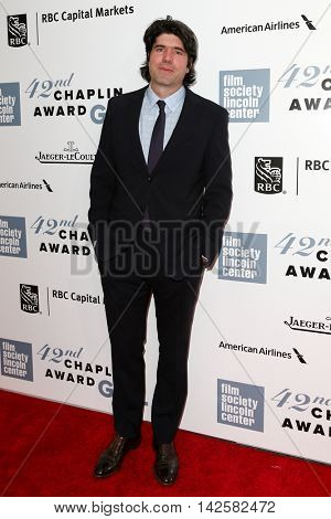 NEW YORK-APR 27: Director J.C. Chandor attends the 42nd Chaplin Award Gala at Alice Tully Hall, Lincoln Center on April 27, 2015 in New York City.