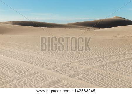 White Sand Dunes At Mui Ne Village Vietnam