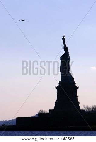 Liberty's Silhouette