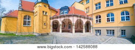 Weida, Germany - May 01, 2016 : State Regular school