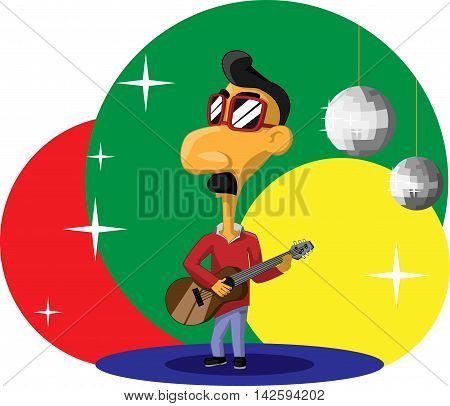 Stylish Brazilian Guitarist