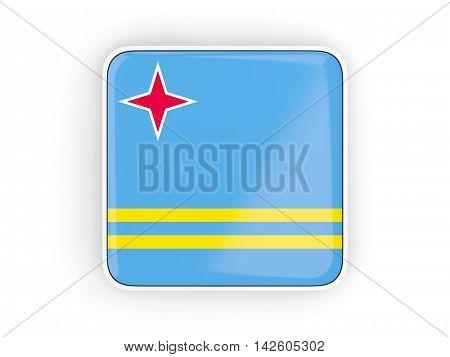 Flag Of Aruba, Square Icon