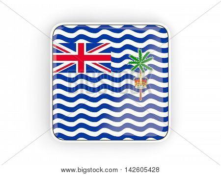 Flag Of British Indian Ocean Territory, Square Icon