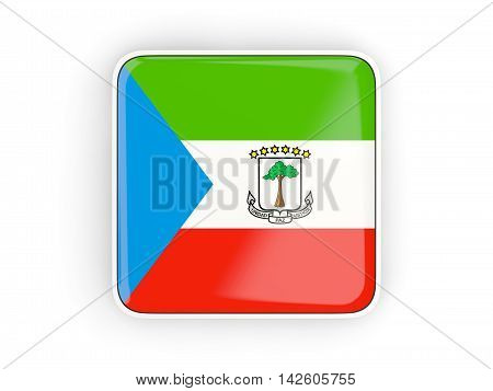 Flag Of Equatorial Guinea, Square Icon