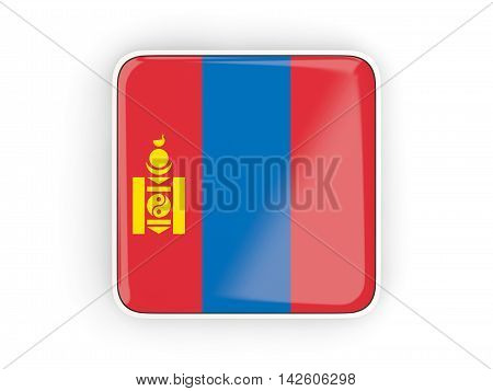 Flag Of Mongolia, Square Icon