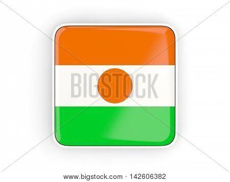 Flag Of Niger, Square Icon