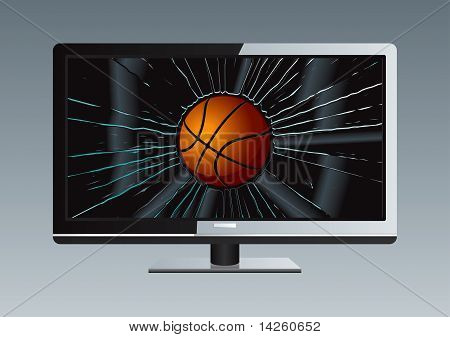 Lcd Tv Broken Ball Set
