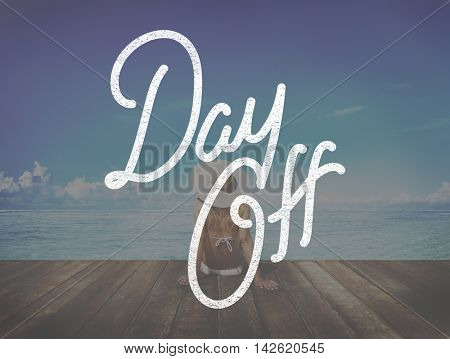 Holiday Day Off Carefree Relaxation Vacation Concept