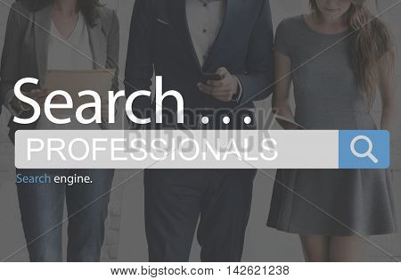 Professionals Business People Expert Accomplished Concept