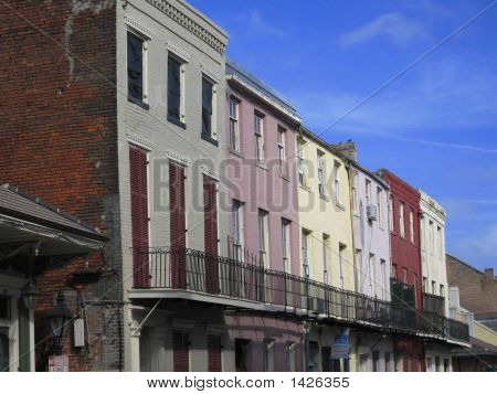 Buildings In Color