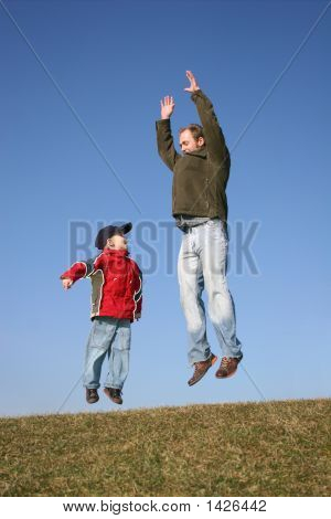 Jumping Father