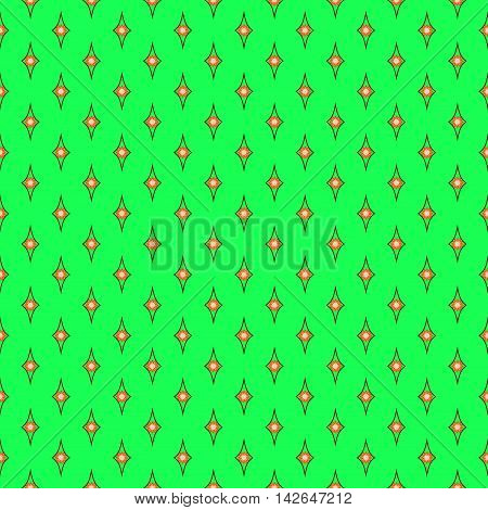 Rhombus geometric seamless pattern. Fashion graphic background design. Modern stylish abstract colorful texture. Template for prints textiles wrapping wallpaper website Stock VECTOR illustration