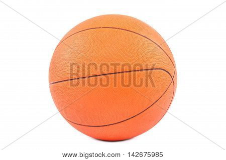 Basketball ball isolated on a white background.