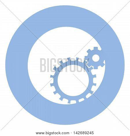 Stylish setting icon . EPS 10 Vector icon