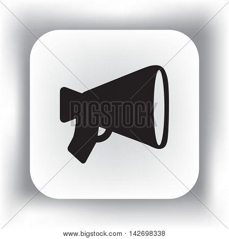 Flat Vector Horn Icon