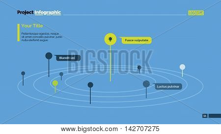 Model of Universe metaphor diagram. Element of presentation, graph, diagram. Concept for business template, infographics, report. Can be used for topics like analytics, marketing, education